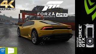 Forza MotorSport 6 Apex BETA 4K Wet Race | GTX 980Ti | i7 5960X 4.6GHz