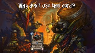 Hearthstone. Why don't use this card? Шестой выпуск.