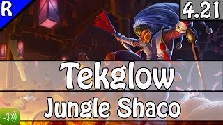 2015: Tekglow as Shaco Jungle vs Lee Sin - S5 Preseason Ranked Gameplay