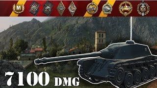 World of Tanks / AMX CDC .. 7100 Dmg
