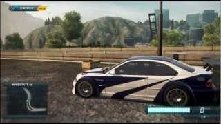 Need for Speed Most Wanted 2012 - BMW M3 GTR Gameplay (DLC)