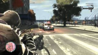 GTA 4 - Nemesis with Minigun
