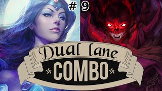 Dota 2 Dual-Lane Action mit NiceTry #9 | Mirana + Shadow Demon (German)