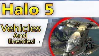 "Halo 5 - ""Enemies And Vehicles!"""