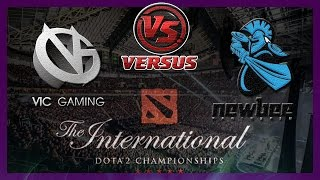 Гранд Финал VG vs NewBee #3 bo5 International 2014 Dota 2 #ti4 RUS