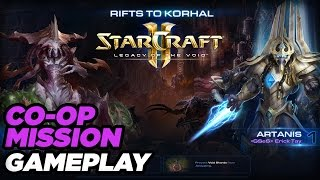 Zagara and Artanis CO-OP Mission Gameplay - StarCraft 2: Legacy of the Void