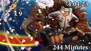4:04:23 Longest Game Record | Megacreeps Comeback | Dota 2
