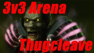 [6.1] Thugcleave 3v3 Arena - Ashrah - World of Warcraft Warlords of Draenor Pvp [Indy]