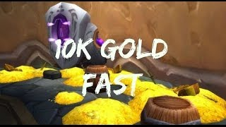 How To Make 10K Gold FAST Per Hour - World of Warcraft 5.4 Guide