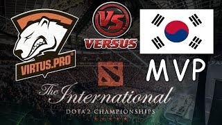 Wildcard Virtus.pro vs MVP.Phoenix #1 bo3 International 2014 Dota 2 #ti4 RUS