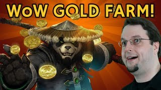 - Gold Farm - 3,000 gold in 30mins - Mist of Pandaria - World of Warcraft - [HD]