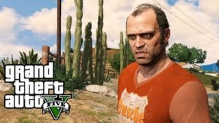 Walkthrough GTA 5 PS3 Part 7. Target Practice. Crystal Maze. Ostrovsky. Friends Reunited.