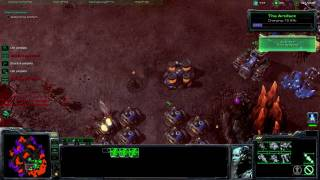 "Starcraft 2 Final mission ""All In"" Brutal difficulty Part 1"