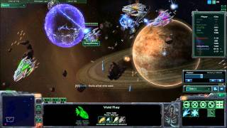 Starcraft 2 UMS - Star Battle - 2vs6 Comeback Victory