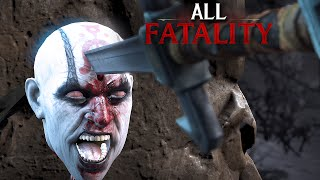 Mortal Kombat X All Fatalities - MKX Fatality Mortal Kombat X Gameplay