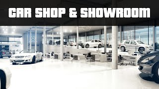CAR SHOP & SHOWROOM | GTA 5 PC Mods