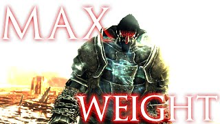 Maximum Weight Possible in Dark Souls 2!