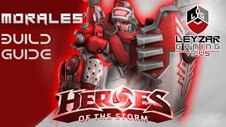 Heroes of the Storm (Gameplay) - Lt. Morales Complete Build Guide (HotS Hero Review)