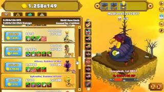 Clicker Heroes - The Late Game - Level 2000 Ascension & 1 Million Hero Souls!