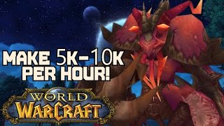 WoW: Gold Guide - Make 5000 - 10000 Gold Per Hour (Warlords of Draenor)