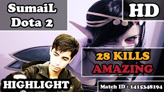SumaiL Dota 2 | REAL Templar Assassin | 28 KILLS