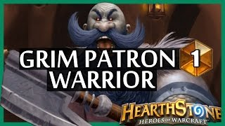 Hearthstone Grim Patron Warrior #1 - Tough deck to play