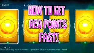 """HALO 5 HOW TO GET REQ POINTS FAST!"""