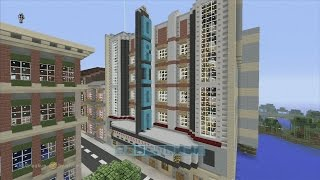 Minecraft xbox Epic Structures: xSLIMSHADY1230x's Orion Theater