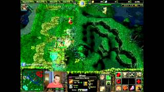 Dota 2 Gameplay DotA 6 78b Ursa Warrior Gameplay with Commentary