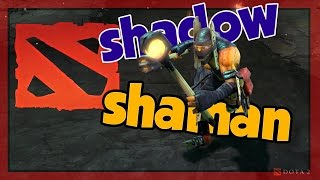 Гайд на шамана(Shadow Shaman): DOTA 2 Guide №65[ИЗИ САППОРТ!]