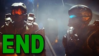 Halo 5: Guardians - Mission 15 - THE END! (Let's Play / Walkthrough / Gameplay)