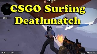 CSGO Surfing With Guns - Workshop Map (Counterstrike Global Offensive)