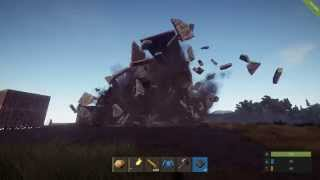 Rust - New Explosives Destructions