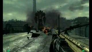 Fallout 3 - Giant robot vs all of Enclave