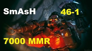 SmAsH 7000 MMR AXE 46-1 | Dota 2 Gameplay