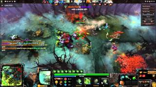 Dota 2 - Undying early game wrecking