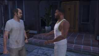 GTA V: Trevor Flips Out On Franklin