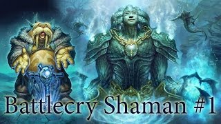 Hearthstone Deck Experiments: Battlecry Shaman #1 AKA Respect the Brann