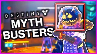 Destiny MYTHBUSTERS! - JACKOLYTE = BIGGER HITBOX!? + MORE! - Destiny Gameplay
