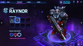 ALL HEROES AND SKINS - Heroes of the Storm