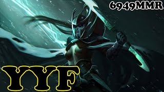 Dota 2 - YYF 6949 MMR Plays Phantom Assassin vol 1# - Ranked Match Gameplay