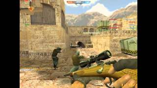 Counter Strike Nexon Zombies : Team Deathmatch--De_Dust2 (30/01/2015)