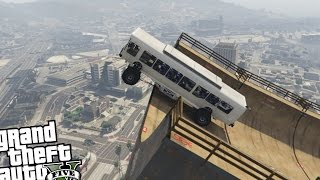 GTA 5 PC - NEW VERTICAL RAMP MOD!! (Grand Theft Auto 5 PC Epic Vertical Ramp Gameplay)