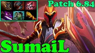 Dota 2 - Patch 6.84 - SumaiL 6765 MMR Plays Dragon Knight - Ranked Gameplay