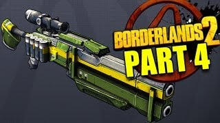 Borderlands 2 Talking Gun! Co-op Gameplay w/ Commentary - Ultra Graphics - Part 4