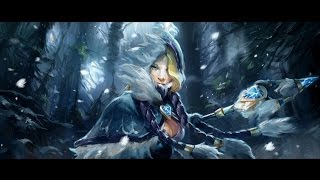 DOTA 2 - Гайд на Crystal Maiden | Guide for Crystal Maiden