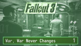 Fallout 3 Playthrough in 1080p 60fps Part 1: War, War Never Changes