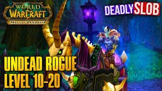 WoW Undead Rogue Leveling Guide - Level 10-20