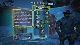 Borderlands 2 - Rampage Gunzerker Build - Lol! Who runs out of ammo?