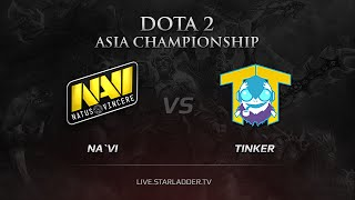 Na`Vi -vs- Tinker, DAC 2015 Europe Qualifiers, LB , game 2